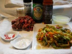INGREDIENTES DE TERNERA CON PIMIENTOS