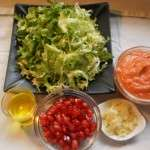 INGREDIENTES DE ENSALADA DE ESCAROLA