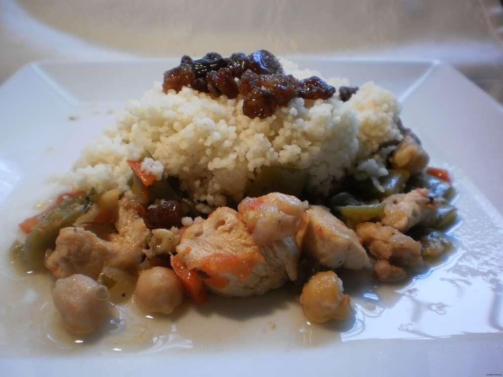 Receta de cusc s de pollo al estilo marroqu cocina y - Cordero estilo marroqui ...