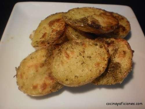 patatas asadas con sazonador Ariosto