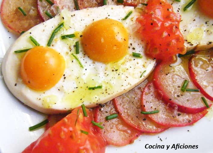 Aperitivo de rabanitos y mozarella receta cocina y for Cocinas enteras