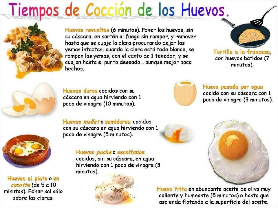 t cnicas de cocina pistas para cocinar los huevos