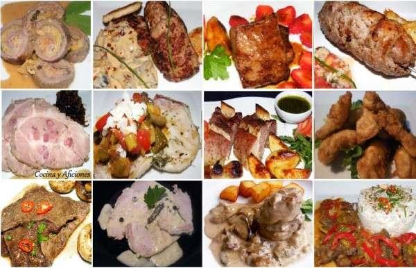 Doce recetas con carne s per f ciles exquisitas y - Platos faciles y ricos ...